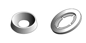 Finishing & Retaining Washers