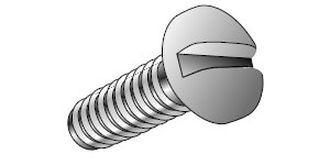 Machine Screws Available Diameters & Lengths - Nylon Machine Screws