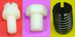 Nylon Machine Screws