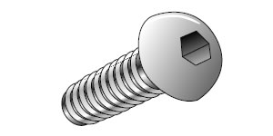 Nylon Button Head Socket Screws
