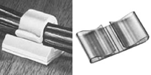 Nylon Clips For Wire & Cable Routing