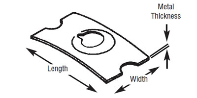 Rectangular & Round Flat Nuts